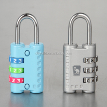 small metal digital combination padlock for bag/door/lockers