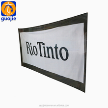 satin fabric advertising hanging banner