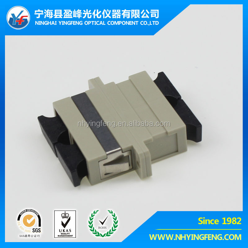 Best price SC/FC/ST/LC/MU/E2000/MTRJ fiber optic adapter , optical connector
