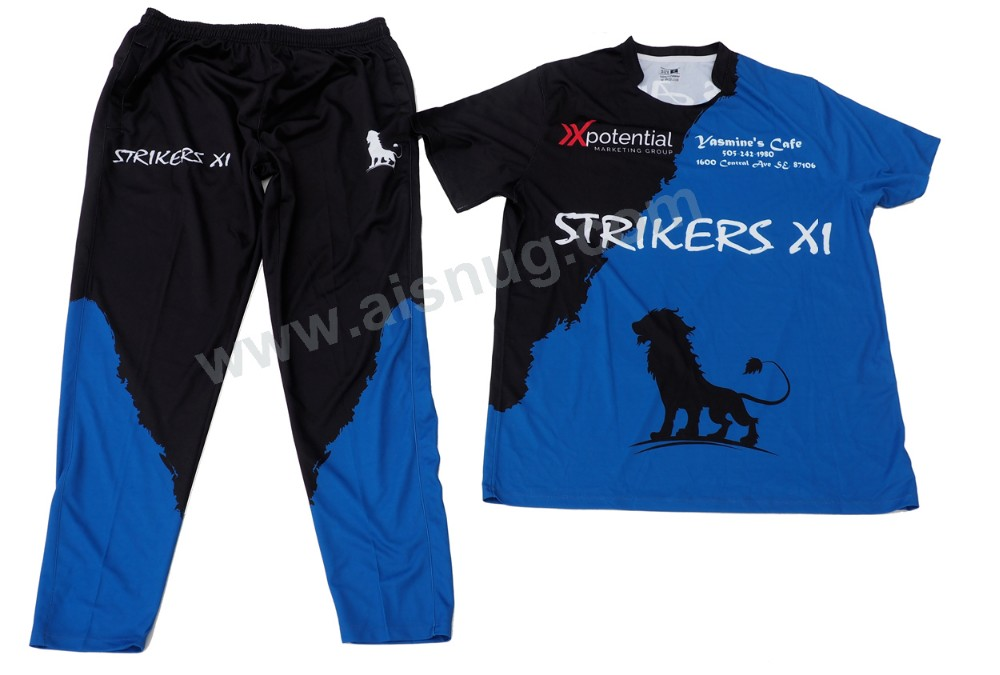 full sublimation new design cricket jersey cricket shirt maker