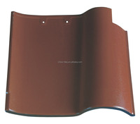 Green Product Spanish Clay Curved Roof Tile From Quanzhou Jinjiang Factory