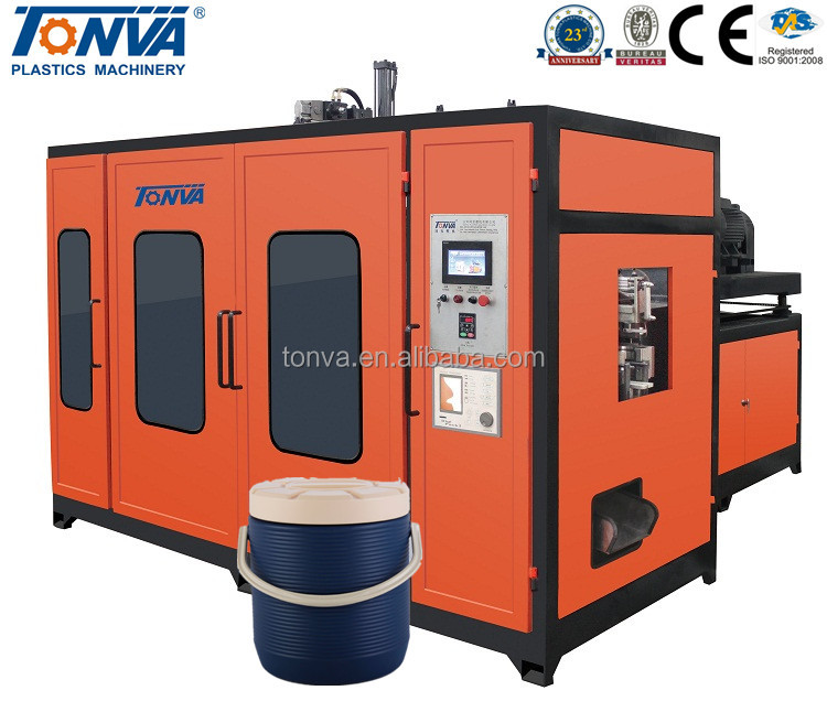CE certificated plastik container blowing mold machinery