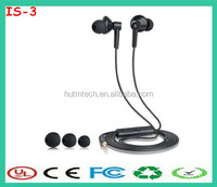 Mini In ear Headphone Ivery Earphone with Control Talk factory supply