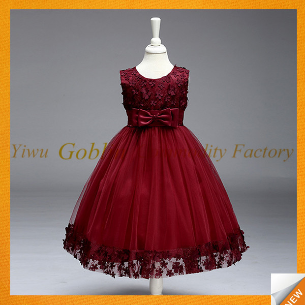 GBJY-741 2017 Hot Sales Baby Girls Frock Design 8Year Old Girl Dress / Latest Children Dress Designs / Baby Mori Girl Dress