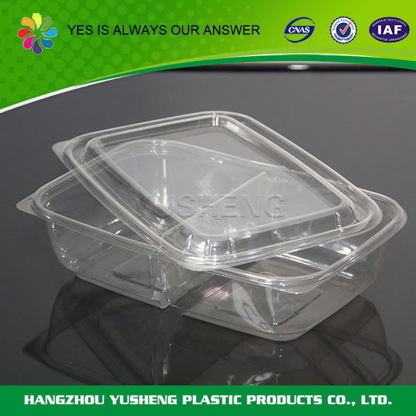 Portable transparent disposable plastic fruit bowl