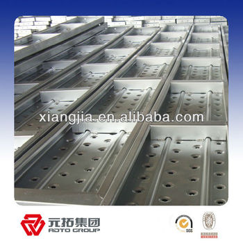 Durable walk board scaffolding used in construction made in China