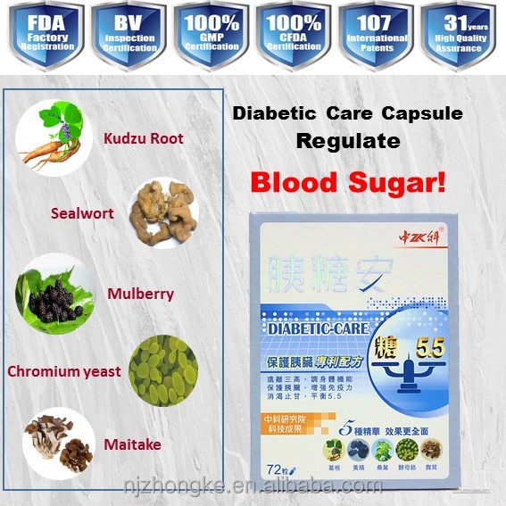 Chinese Organic Natural Herbs of diabetes medicine