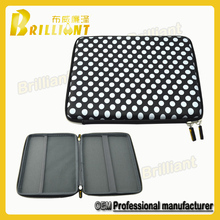 Black color embossed logo mouse and keyboard storage case