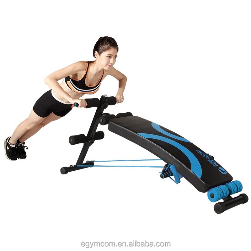 Hot Sale Bench Abdominal Exercises Sit up Exercise Equipment Press Fit 30 Pictures