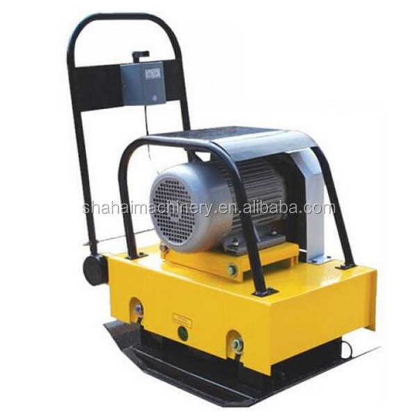 5.5HP power forward plate compactor Road machinery/hydraulic vibratory soil compactors