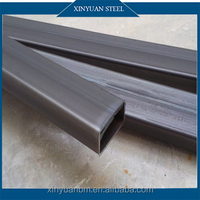 Canton Fair Q195 Hot Dipped Cold Rolled Zinc Galvanized Rectangular Steel Tubes