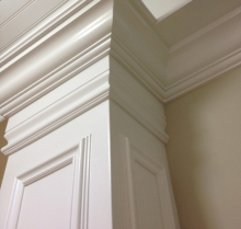 High quality polyurethane moulding 854s-d5 house decor polyurethane ceiling cornices wood carved cornices