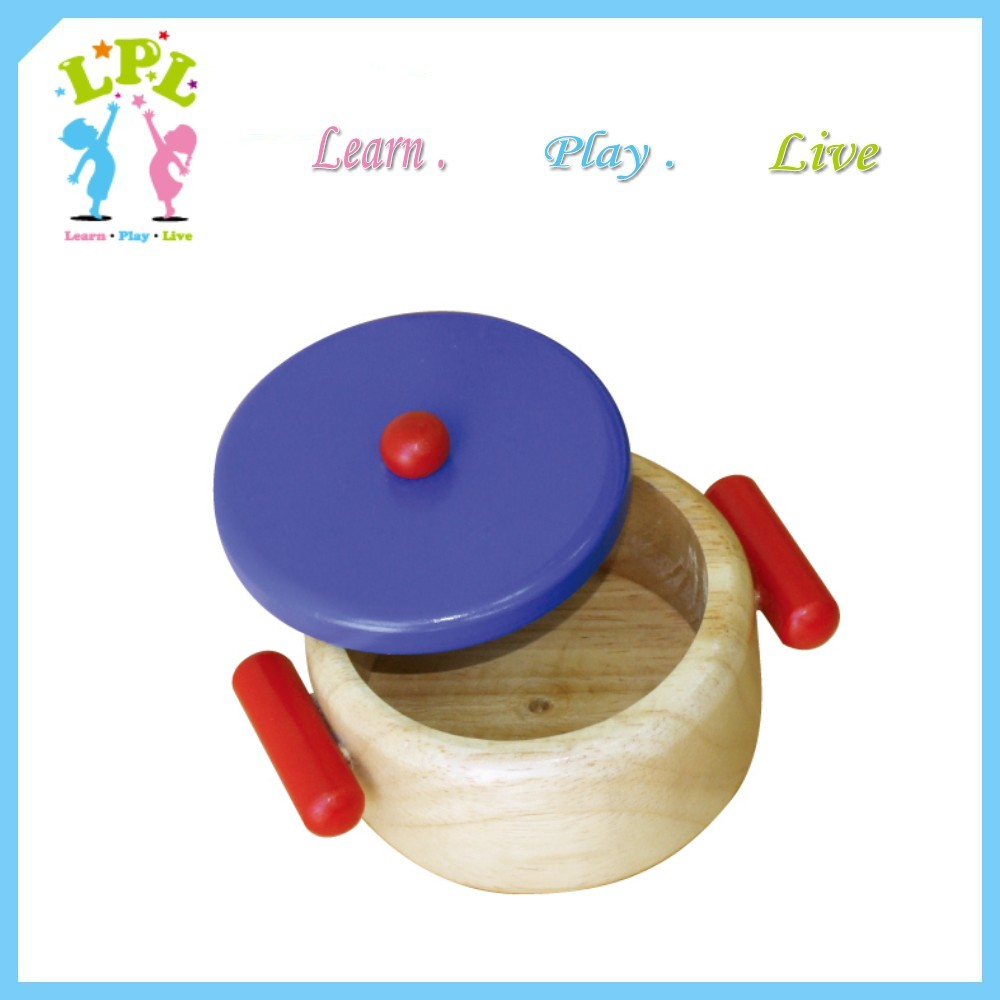 Eco-friendly pretend play & preschool kitchen toys kids cooking wooden toys for education