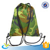 Factory direct sale Camouflage camo waterproof reusable mesh drawstring bags