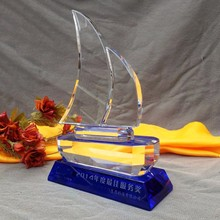 Numerous in variety crystal sailboat trophy award to rank first among similar products