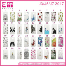 OEM factory direct sale tpu pc custom printed phone case for Samsung J3 J5 J7