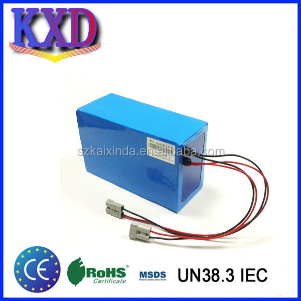 Electric vehicle li ion battery pack 60v 40ah scooter battery