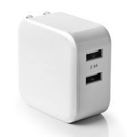 new model smartphone charger 4.8A wall 2 usb charger