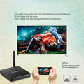 X98 PRO 2017 amlogic s912 android tv box 3gb 32gb octa core smart stream tv box