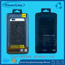 plastic box packaging for phone case of iphone Send black tray