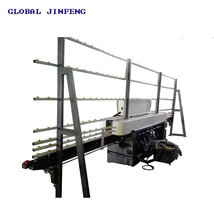 JINFENG  8Spindles vertical Glass straight line edge  and polishing machinery