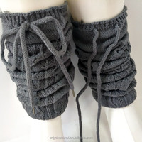 Fashion hand knitted leg warmers factory wholesale sales (accept custom)
