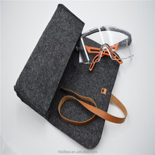 2017 new design custom cool sunglasses case with leather strap