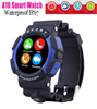 New A10 Smart Watch Bluetooth Waterproof UV Smartwatch for iPhone 6 6s Puls 5S for Samsung S6 S5 Note 2 3 4 5 HTC Android Phone