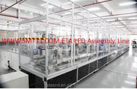 Led bulb production assembly line, full automatic led light production assembly line