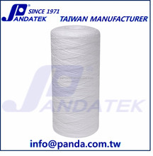 FDA approved 10 inch PP string wound water filter cartridge for pre RO system