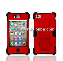 Fashion design robot plastic mobile phone case for iphone 4