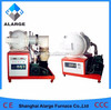 CE High Temperature Electric Laboratory Vaccum Furnace 1700C for composition analysis