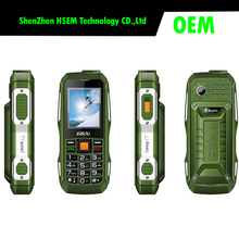 1.8 inch Waterproof Mobile Phone GSM Unlocked Dual SIM Feature Cell Phone