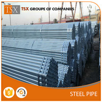 TSX-1609019 hot dip galvanized steel pipe fencing rail fence post caps steel fence post prices