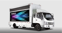 OMDM Commercial promotion LED mobile truck/roadshow Mobile LED Truck/factory sale high resolution,waterproof LED screen truck