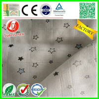 Hot sale Breathable cotton/bamboo fabric for cloth diaper