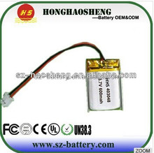 hot sale best price batterie rechargeable 3 7 600ma