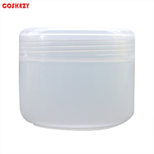 wholesale 250G Empty Plastic white and clear Jar ,Containers Refill Cosmetic Cream Lotion Bottle ,Craft Ointment Travel Tester
