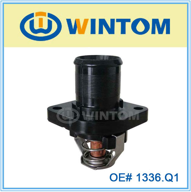 water coolant flange with thermostat for citroen c8 parts 1336.Q1