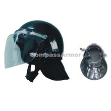 ABS/PC Full protection Military Security with Visor Anti riot Helmet For Safety ARH-15