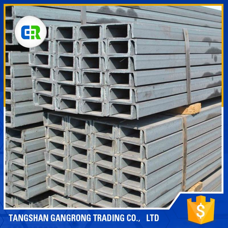 Manufacturer Various Sizes Hot Rolled Heavy C Steel Channel