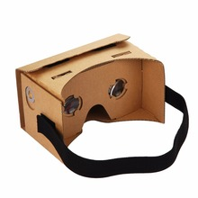 SOYAN Simplest DIY Google Cardboard VR 3D Glasses with 360 vr camera vr box personality virtual reality game machine