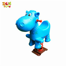 Toy Plastic Outdoor Playground Spring Kid Rocking Horse
