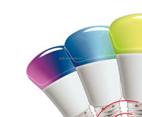 NEW LED RGB wireless remote bulb light
