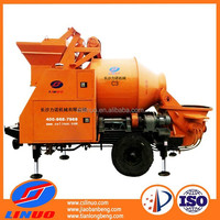Linuo C3 Hydraulic system portable concrete mixer and pump in Kenya
