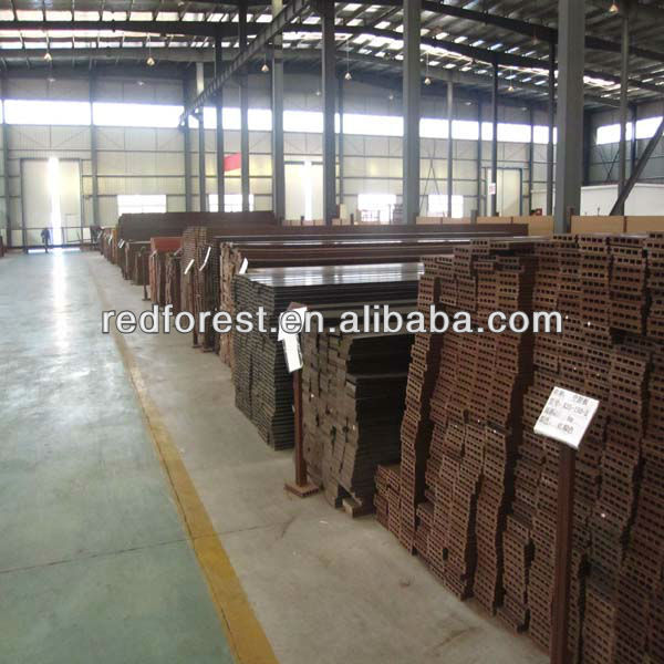 Recyclable wood plasitic composite decking