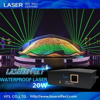 20w green waterproof laser light for outdoor laser show with high quality