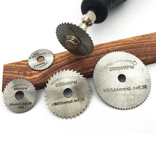 GOXAWEE Rotary Power Tools Accessories Saw Blades Wood Aluminum Cutting Set HSS Circular Saw Blade