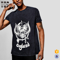 OEM service urban streetwear wholesale screen printed t-shirts 100% cotton