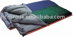 Envelope double layer camping sleeping bag
